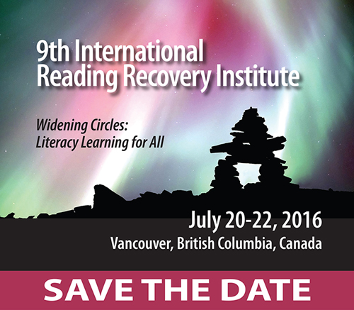 2013 International Reading Recovery Conference